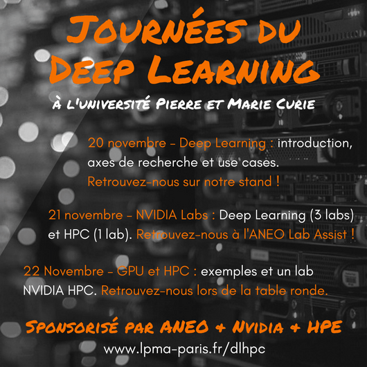 Journées du Deep Learning - carré