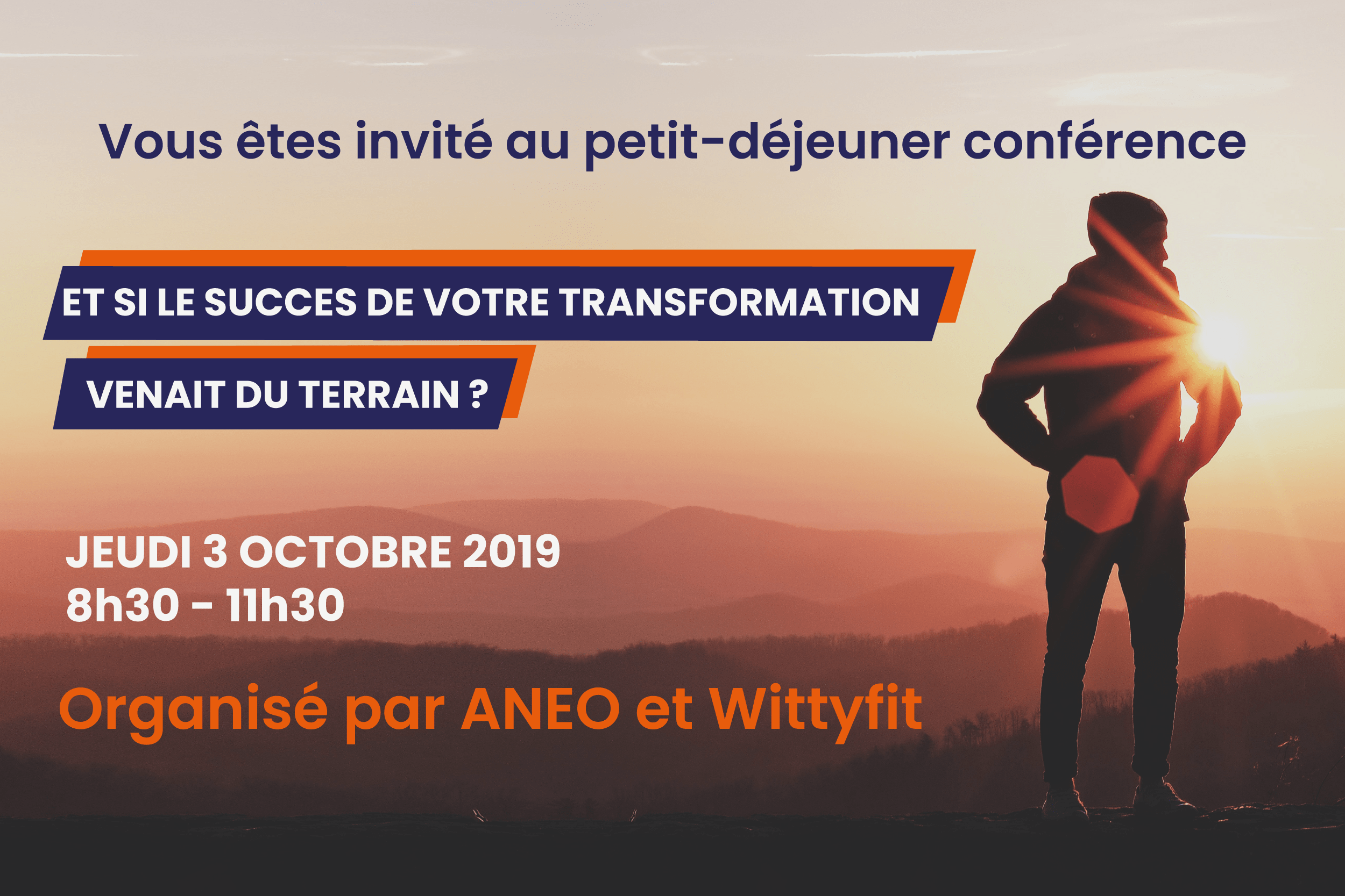 Invitation conférence Wittyfit & Aneo